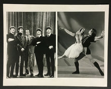 Load image into Gallery viewer, 1960s The Beatles Composite Studio Issued Photo Ed Sullivan Show CBS Lennon
