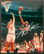 Jerry Stackhouse Signed Autographed 8x10 NBA Basketball Photo 76ers