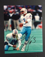 Load image into Gallery viewer, AL Del GRECO Houston Oilers Signed 8X10 Autographed Football PHOTO NFL