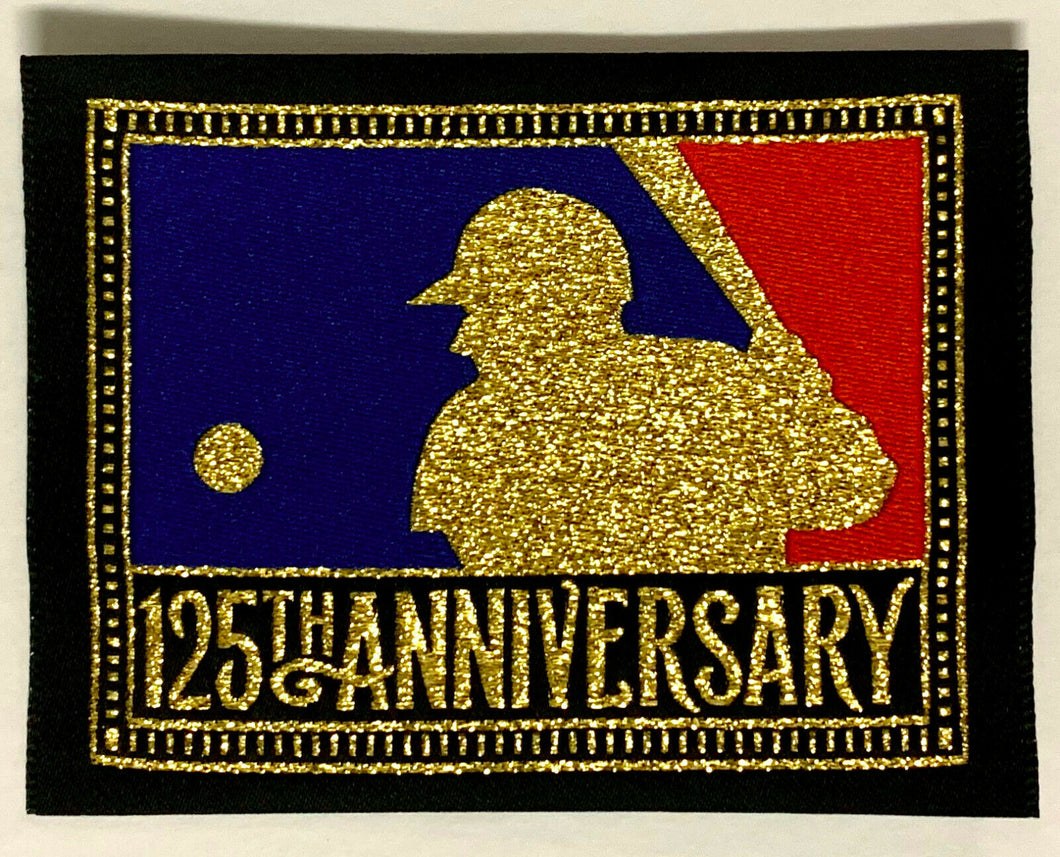 1994 MLB Baseball 125th Anniversary Team Issued Jersey Patch Players Crest NOS!