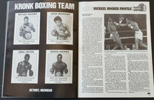 Load image into Gallery viewer, 1990 Rare WBO Super Middleweight Championship Boxing Program Hearns vs Olajide