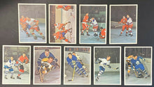 Load image into Gallery viewer, 1963 NHL Toronto Star Hockey Photos Full Set (42) HOFers Howe Hull Sawchuk +More
