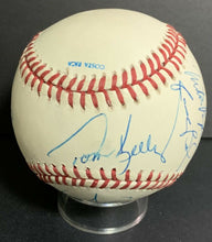 Load image into Gallery viewer, 1991 World Series Multi Signed Baseball Minnesota Twins Champions x9 Puckett JSA