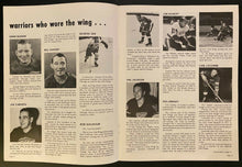 Load image into Gallery viewer, 1969 NHL Hockey Program Detroit Red Wings Toronto Maple Leafs Old Timers Game