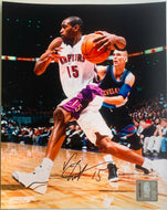 Vince Carter Signed Autographed 8x10 NBA Basketball Photo Toronto Raptors