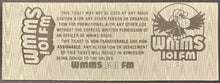 Load image into Gallery viewer, 1982 The Who Music Richfield Coliseum Concert Ticket Stub Unused
