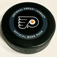 Load image into Gallery viewer, 2020 Stanley Cup Playoff Philadelphia Flyers Game Used Puck Toronto NHL Bubble