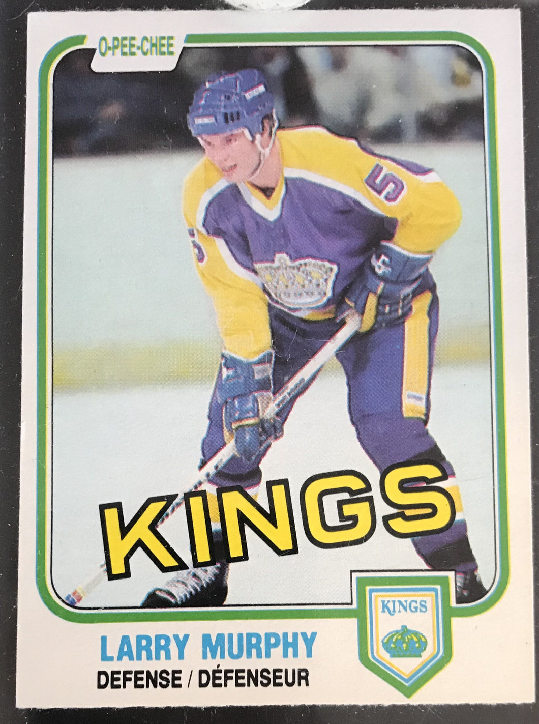 Larry Murphy Los Angeles Kings Rookie Card