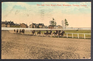 Early 1900's Horse Racing Postcard Kings Plate Stakes Race Woodbine Racetrack