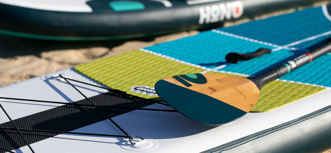 Honu boards and paddle