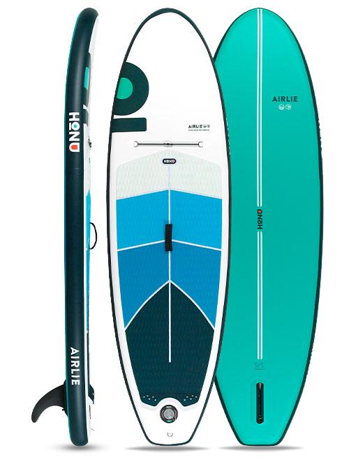 Honu Boards Inflatable SUP Perfect Day Airlie 8'6 Kids All-rounder