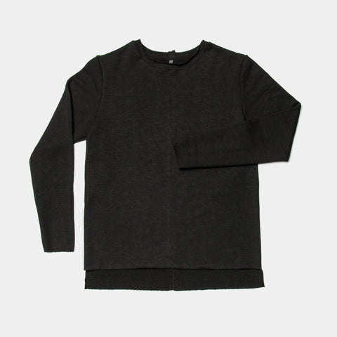 FRENCH TERRY CREW / BLACK