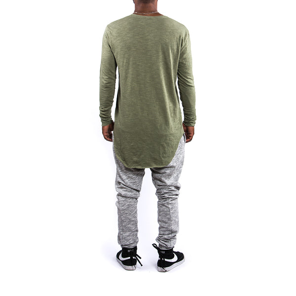 EVERYDAY LONG SLEEVE / OLIVE