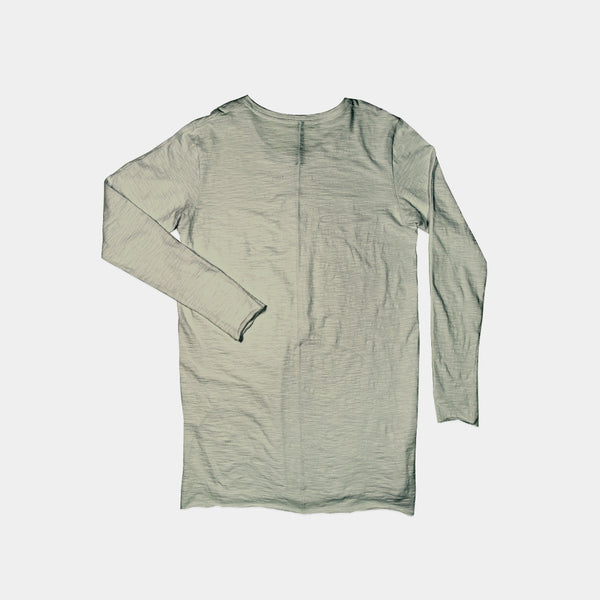LONG SLEEVE SLUB / OLIVE
