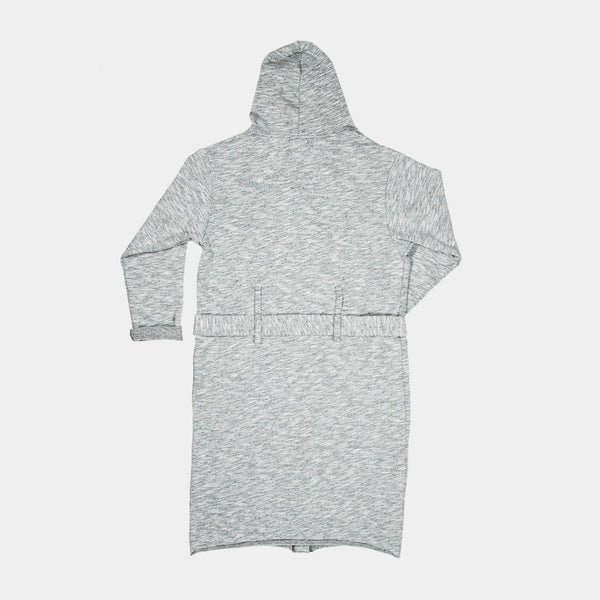 HOODED HOUSECOAT