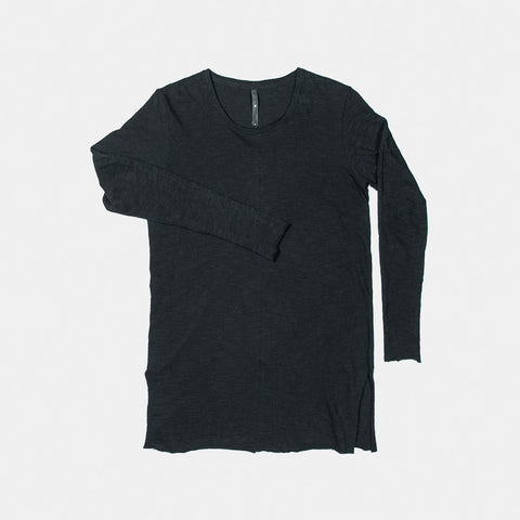 LONG SLEEVE SLUB / BLACK