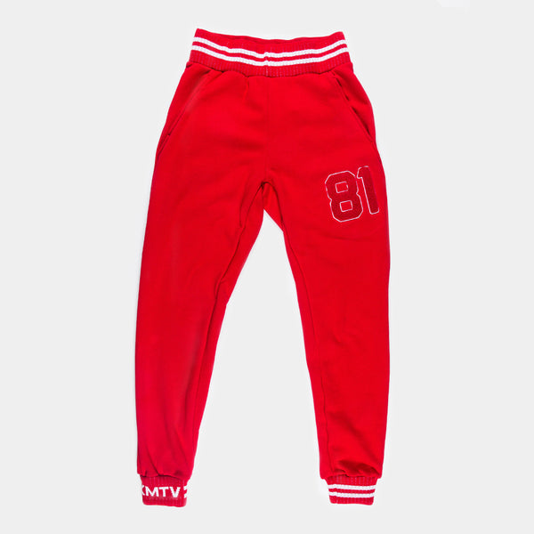 OMXMTV SWEATS - RED
