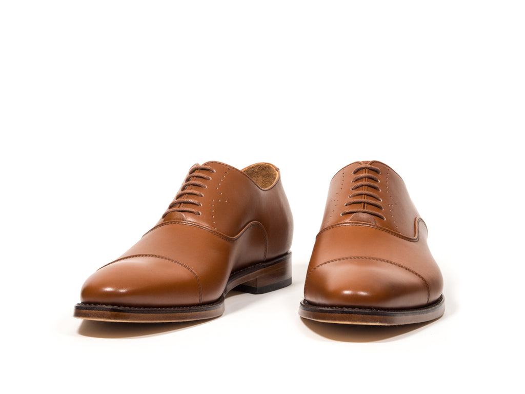 DRESS SHOE LIGHT BROWN COGNAC