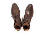 LACE-UP BOOT BROWN OIL-SPLIT