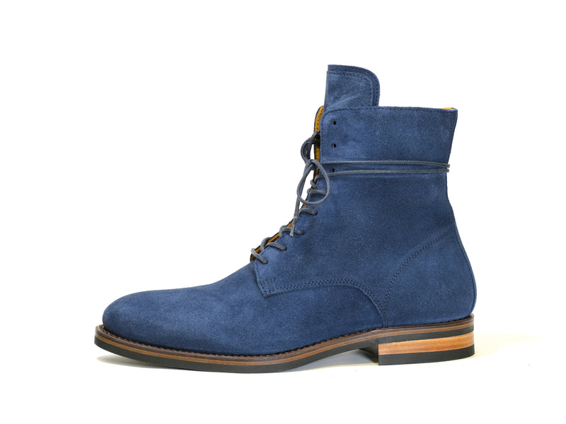 LACE-UP BOOT BLUETTE SUEDE