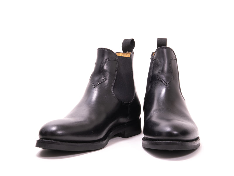 CHELSEA BOOT BLACK PULL-UP