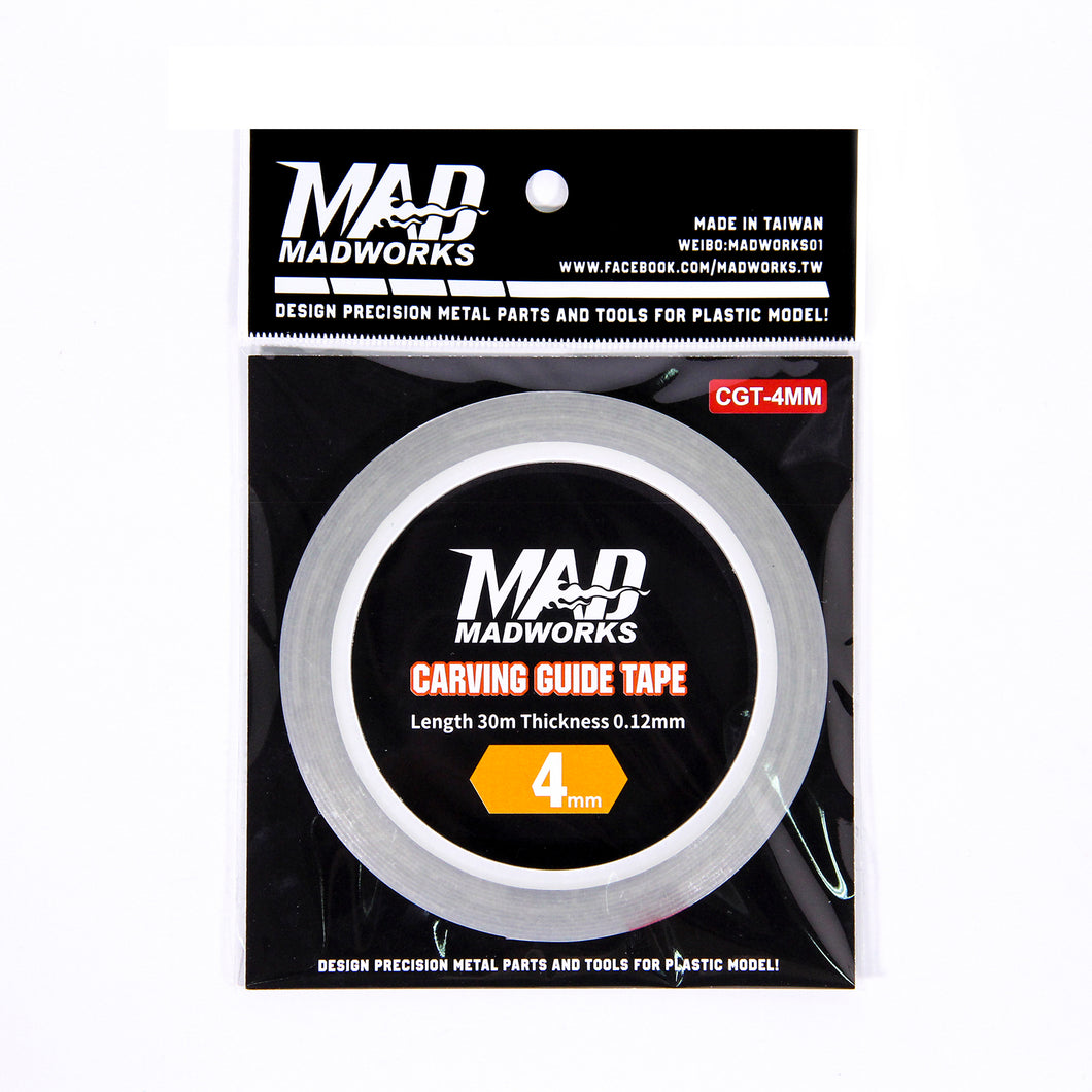 MADWORKS Carving Guide Tape 4mm