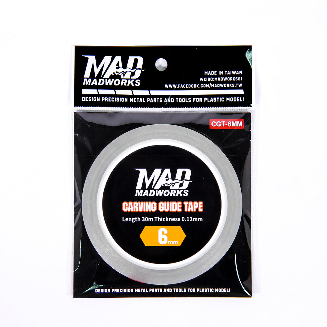 MADWORKS Carving Guide Tape 6mm