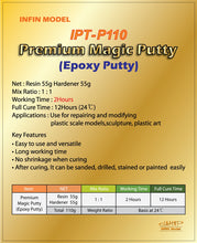 Load image into Gallery viewer, Infini Model - Premium Magic Putty