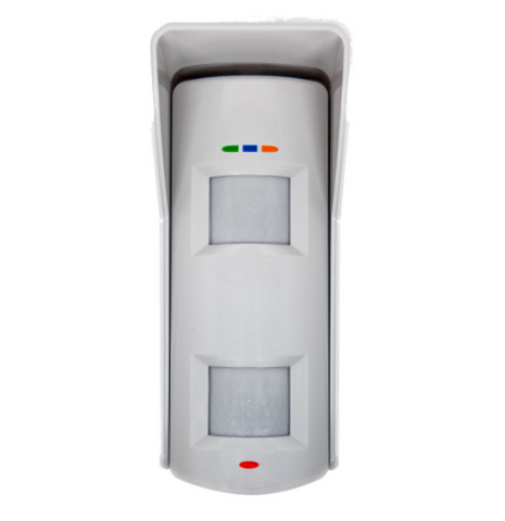 Hikvision Wireless Outdoor Dual Tech Detector to suit Axiom Hub, 10m, 90deg