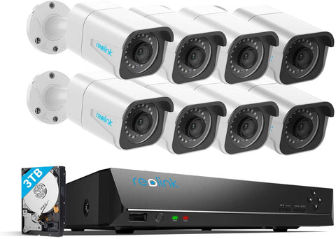 Reolink  PoE Security-Camera-System,4K RLK16-800B8
