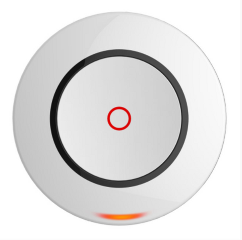 Hikvision Wireless Single Button Panic to suit Axiom Hub, Two Way