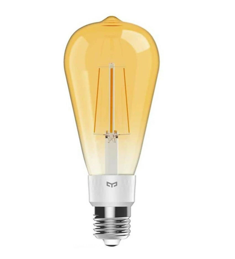 Yeelight Smart LEDFilament Bulb ST64 Yeelight 6W E27 ST64 Smart LED Filament Bulb Work With Apple Homekit AC220-240V