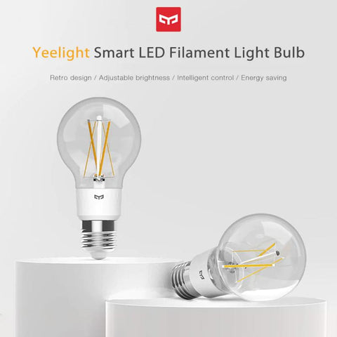 Yeelight YLDP12YL 700 Lumens 6W Smart LED Filament Bulb