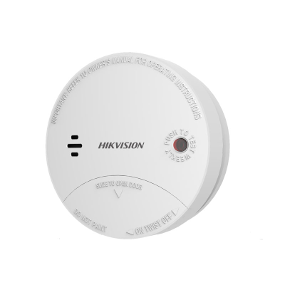 Hikvision Wireless Photoelectric Smoke Detector to suit Axiom Hub