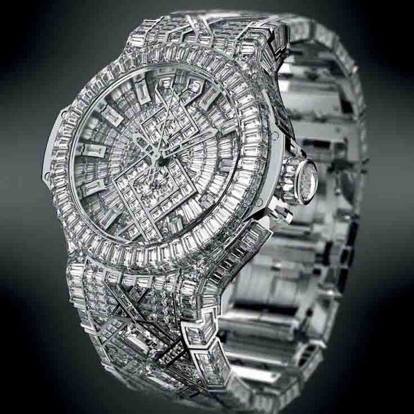 In Excess: Diamond Watches