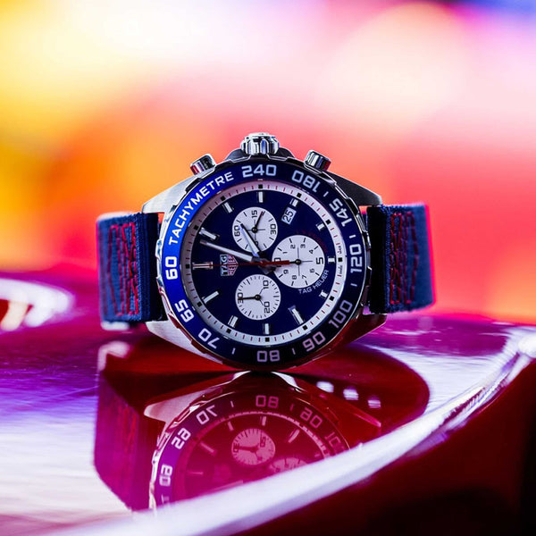 Luxury Watches and F1: Fierce Competition On and Off the Circuit