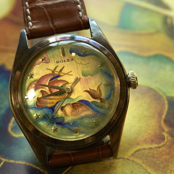 Cloisonné Watch Dials as Fine Art