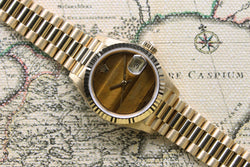 1988 Rolex Datejust Ladies Tiger Eye dial - NOS Ref. 69178