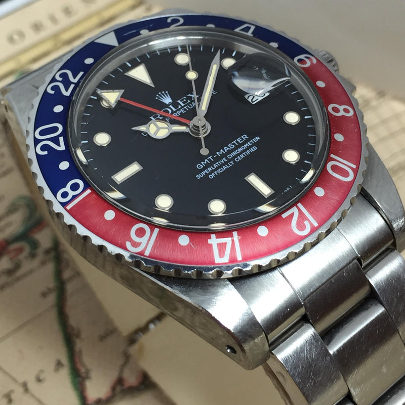 Rolex GMT Master Ref. 16750 Year 1985 'Unpolished' (Full Set)
