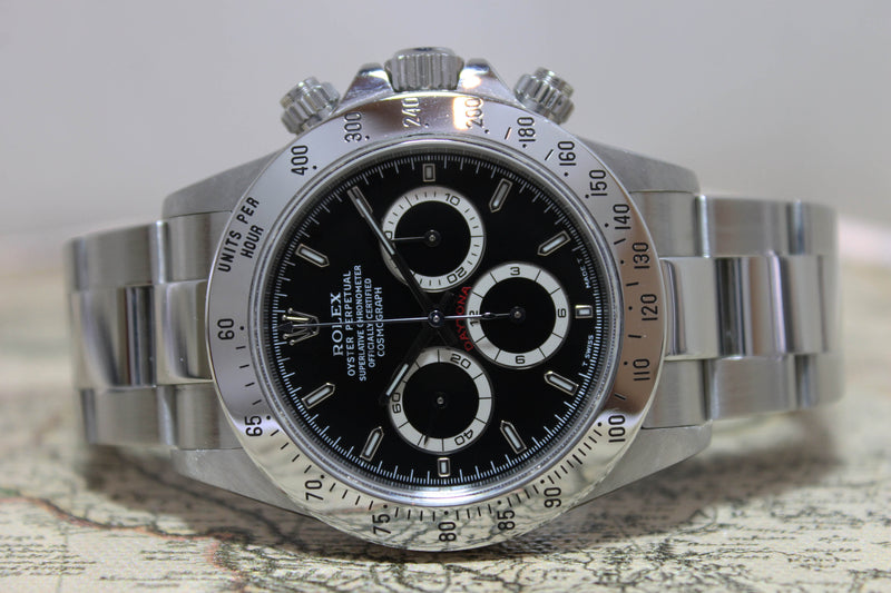 Rolex Daytona Near NOS Ref. 16520 Year 1998 (with Box & RSC Papers)