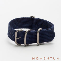 Zulu Strap Dark Blue - Braided - Momentum Dubai