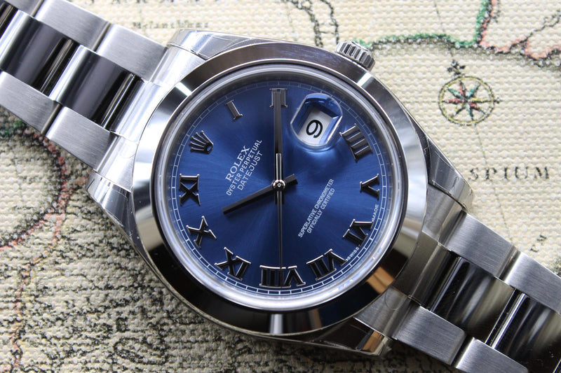 2015 Rolex Datejust II Unworn Stickers Ref. 116300 (Full Set)