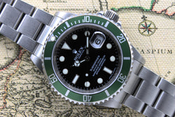 Rolex Submariner 50th Anniversary Ref. 16610LV Year 2007 (Full Set)