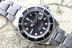 1968 Rolex Red Submariner MK2 Ref. 1680 (Full Set)
