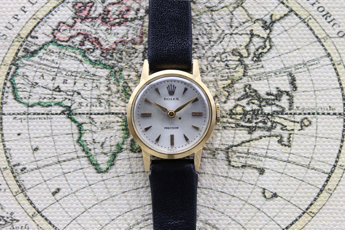 1958 Rolex Precision 18K Ladies Ref. 9169