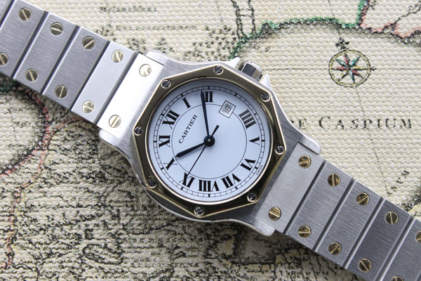 Cartier Santos Ladies Octo St/G