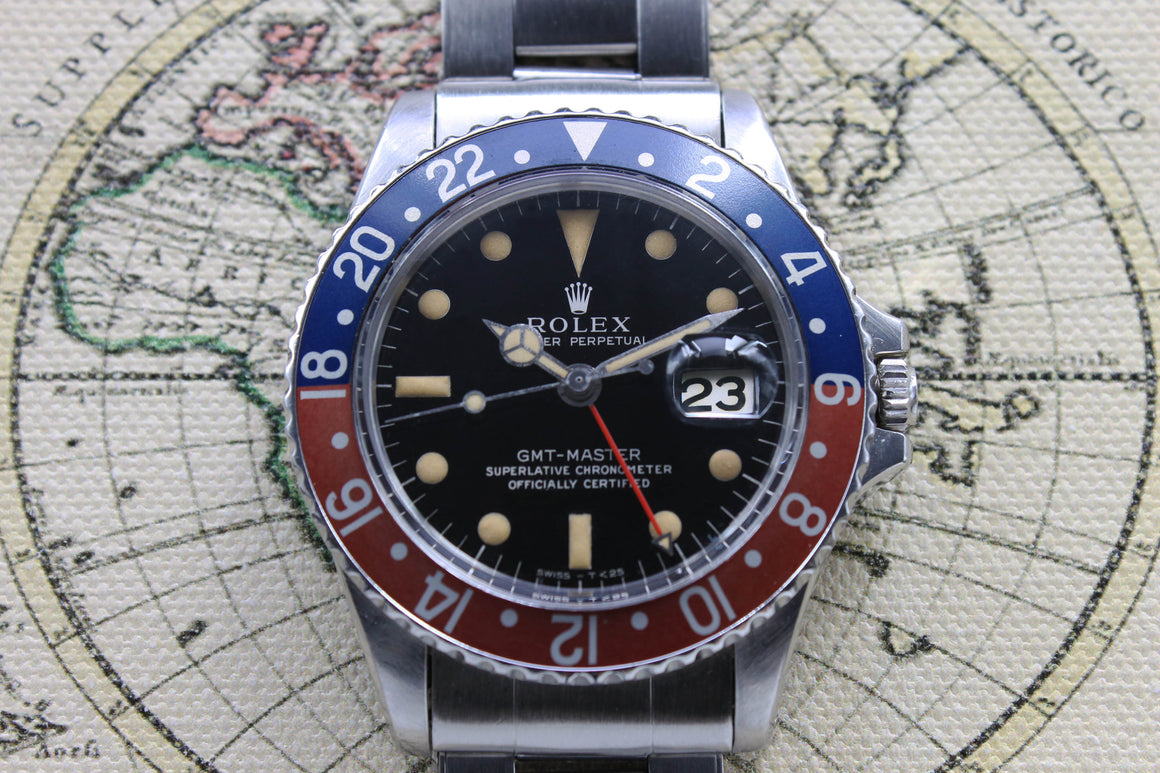 Rolex GMT Master Gilt Ref. 1675 Year 1966 (Full Set)
