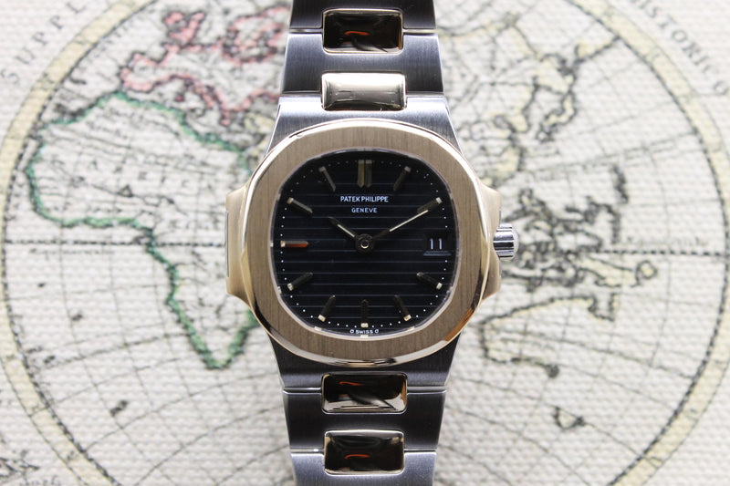 1981 Patek Philippe Nautilus Ladies St/G Ref. 4700 (with Extract From Archives)