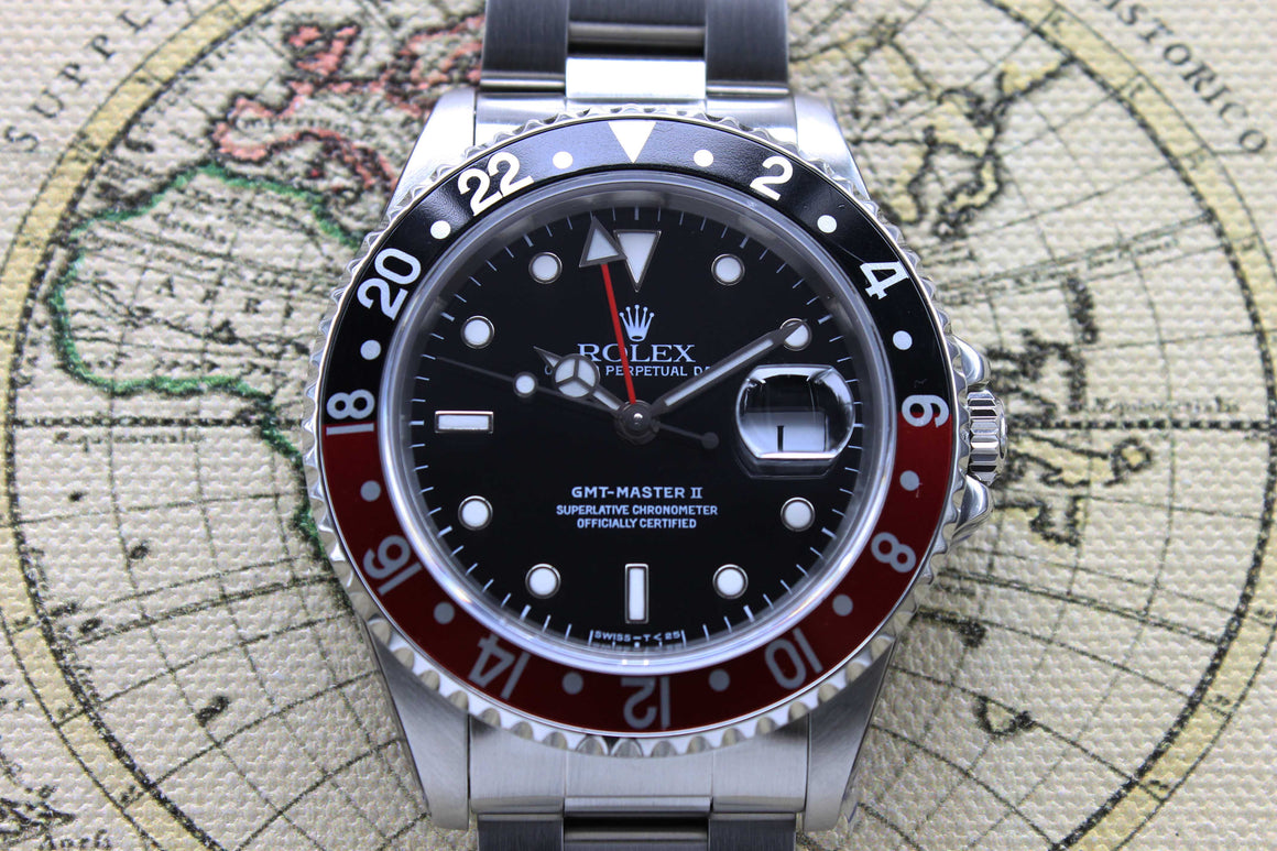 Rolex GMT Master II Coke Ref. 16710 Year 1994 (Full Set)