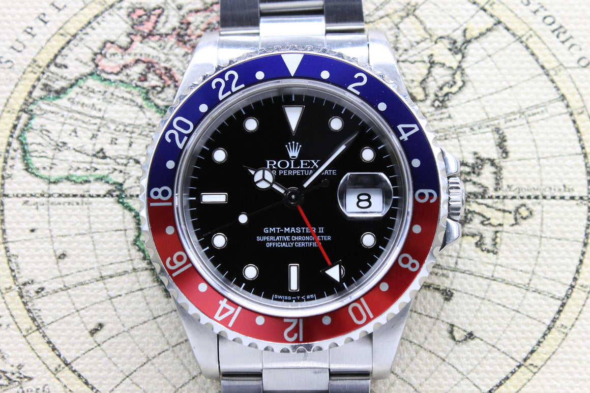 1993 Rolex GMT Master II Ref. 16710 (with Papers)